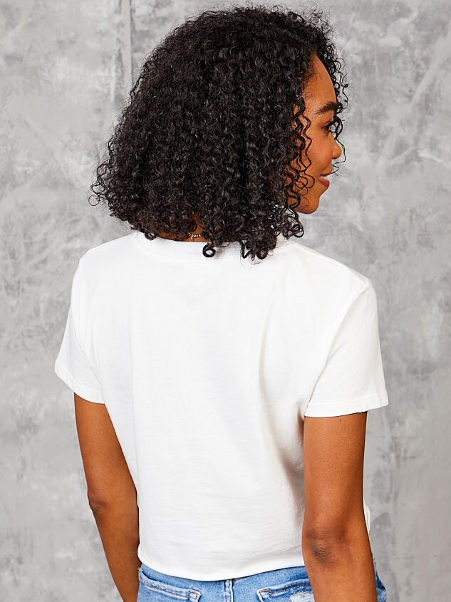 Los Angeles Cropped Tee Detail 4 - Altar'd State