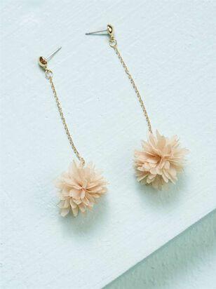 Flower Puff Earrings - Altar'd State