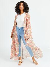 Flower Power Kimono - Altar'd State