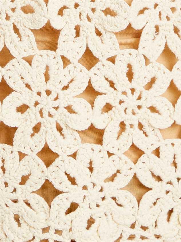 Crochet Daisy Sweater Detail 4 - Altar'd State