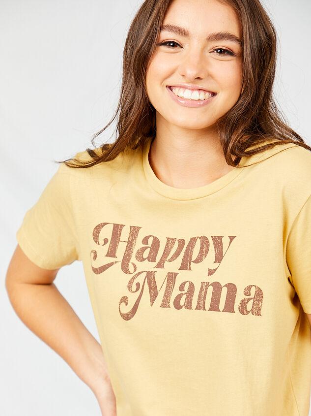Happy Mama Boyfriend Tee Detail 4 - Altar'd State