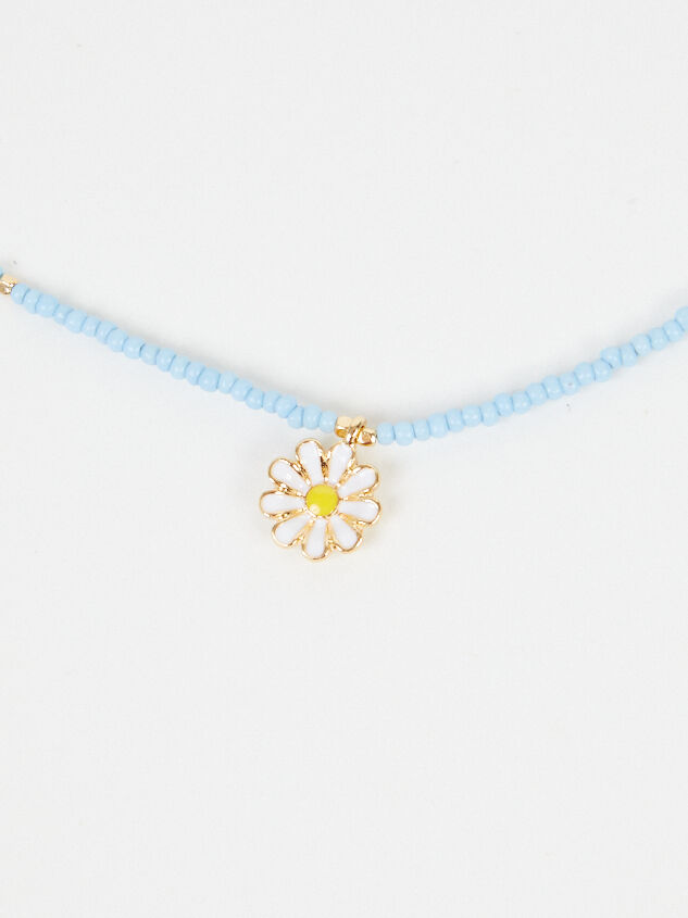 Daisy Beaded Necklace - Altar'd State