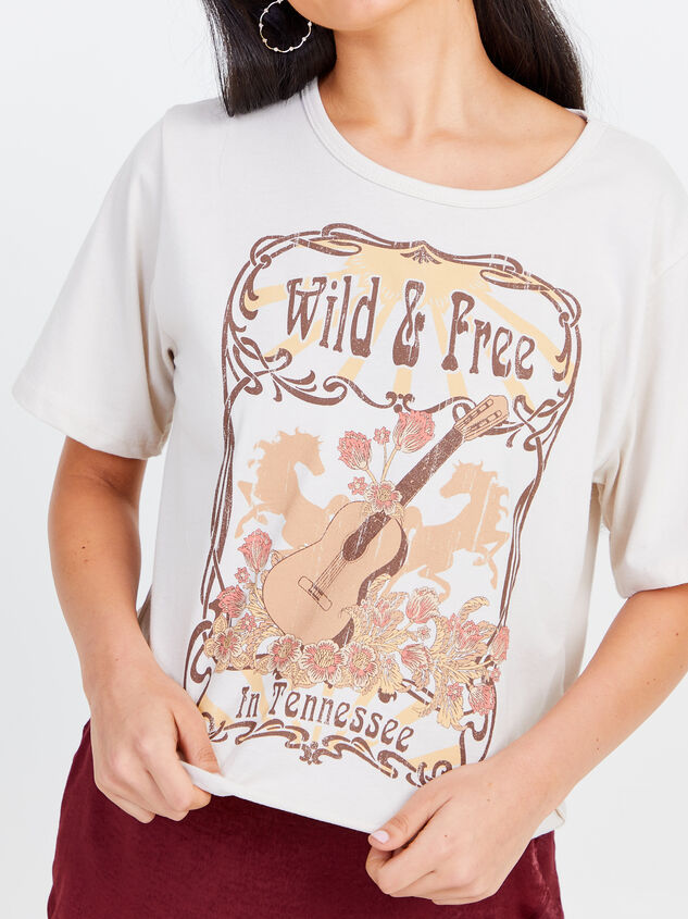 Wild & Free Cropped Tee Detail 4 - Altar'd State