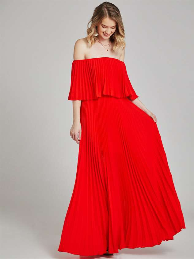 Audrianna Maxi Dress Detail 2 - Altar'd State