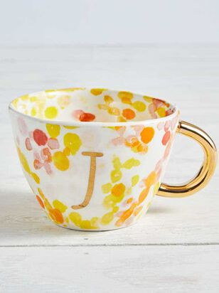 Hello Beautiful Monogram Mug - J - Altar'd State