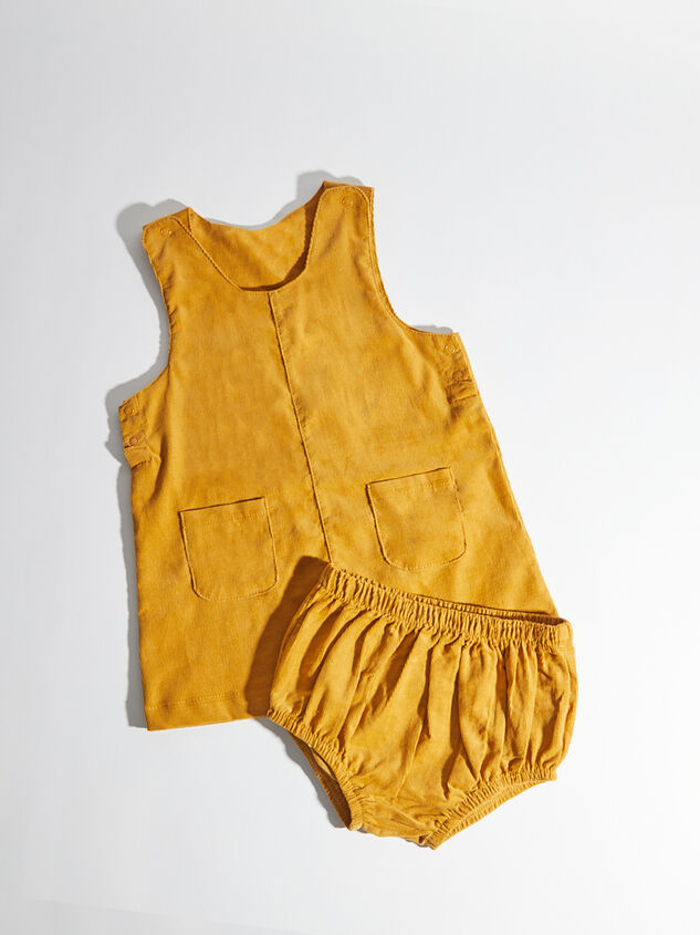 Tullabee Corduroy Dress & Bloomer Set Detail 2 - Altar'd State