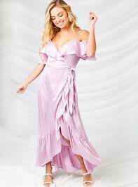 Ceres Satin Maxi Dress - Altar'd State