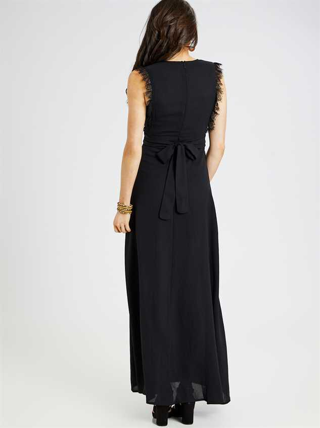 Valetta Maxi Dress Detail 3 - Altar'd State