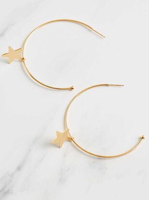 Star Dangle Earrings - Altar'd State