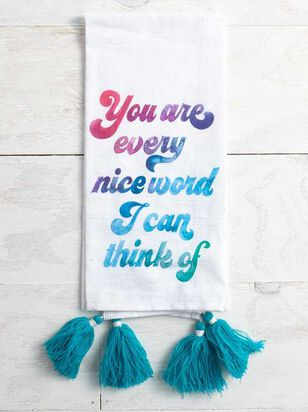 Every Kind Word Hand Towel - Altar'd State