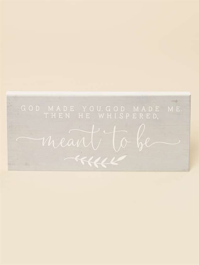 Meant to Be Wall Art - Altar'd State