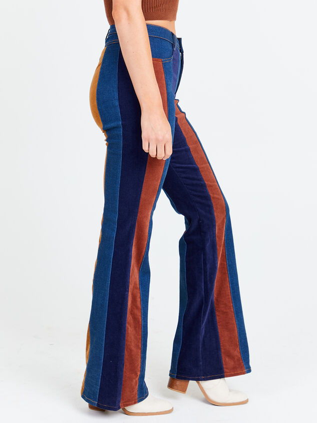 Suede Flare Jeans Detail 3 - Altar'd State