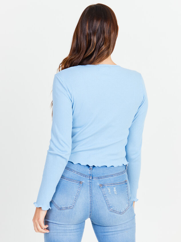 Sidone Long Sleeve Top Detail 3 - Altar'd State