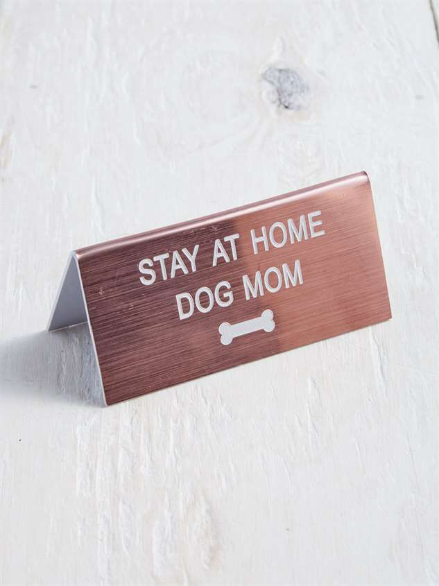 Dog Mom Sign Detail 2 - Altar'd State