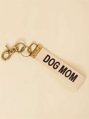 Dog Mom Canvas Keychain - Altar'd State