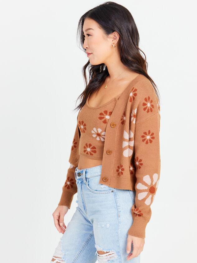 Flower Power Sweater Detail 2 - Altar'd State