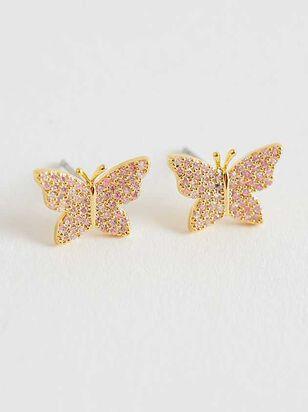 Butterfly Fields Earrings - Altar'd State