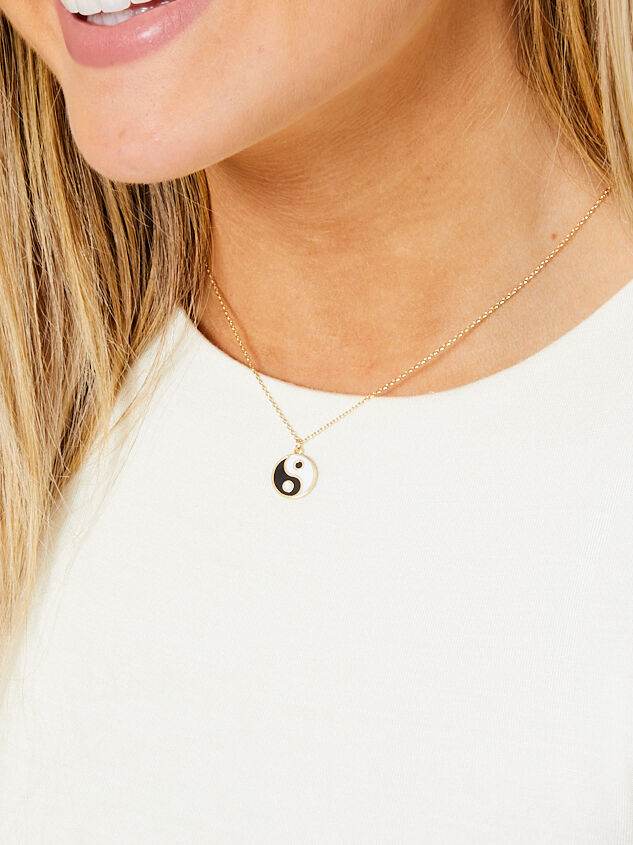 Ying Yang Necklace Detail 2 - Altar'd State