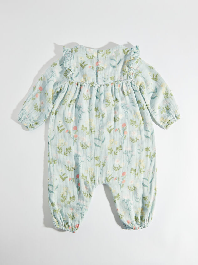 Tullabee Meadow Floral Romper Detail 2 - Altar'd State