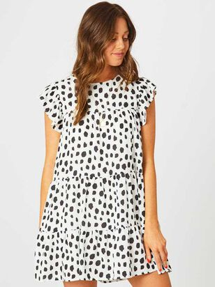 Dalmatian Tiered Dress - Altar'd State