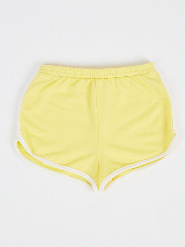 Tullabee Yellow Retro Shorts - Altar'd State