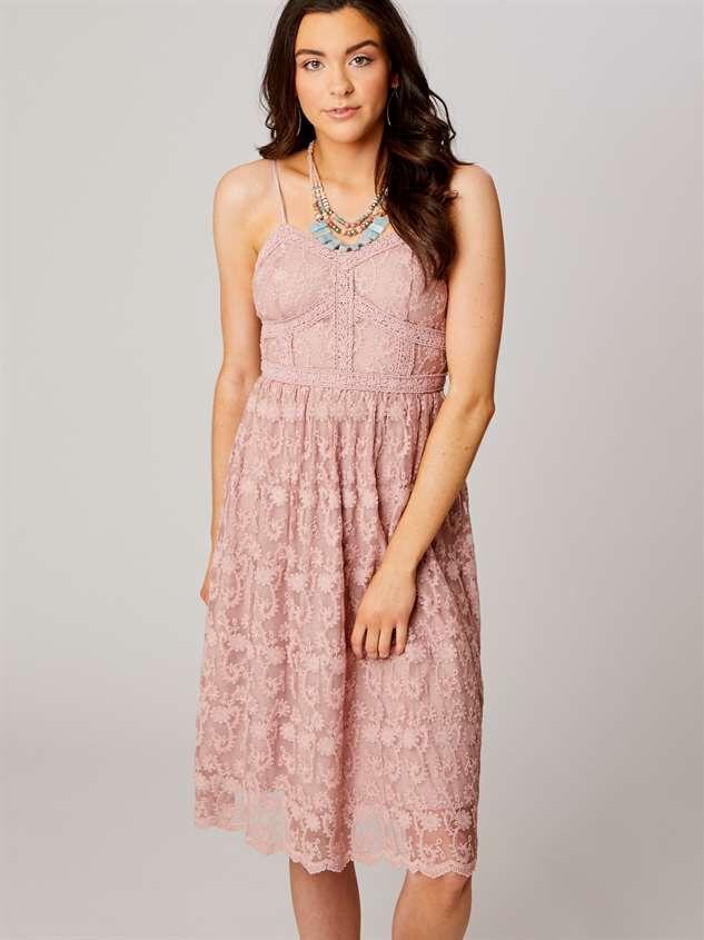 Altard State Purple Lace Dress