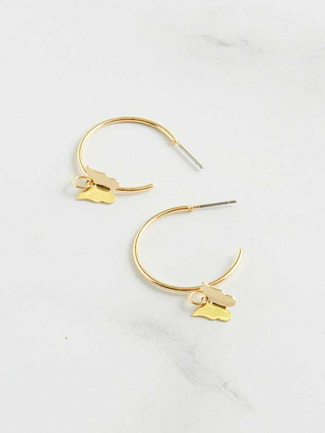 Butterfly Dangle Earrings - Altar'd State