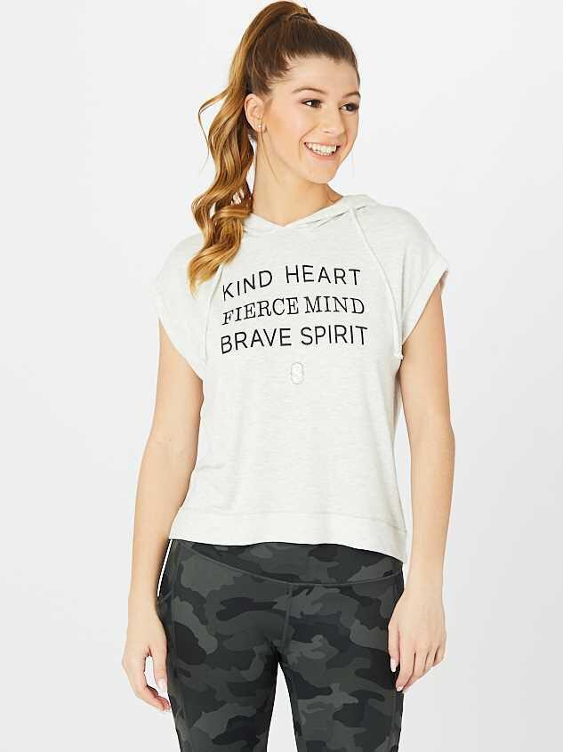 Revival Kind Heart Crop Hoodie - Altar'd State