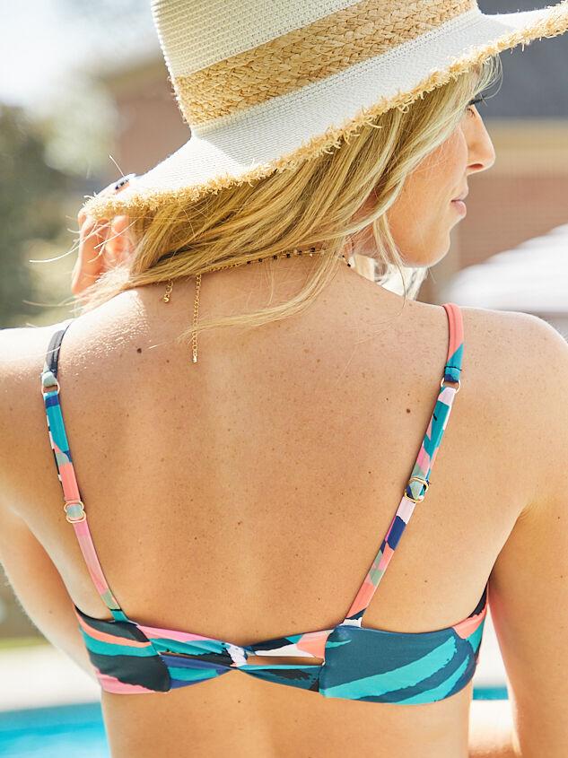 Crystal Cove Bandeau Bikini Top Detail 4 - Altar'd State