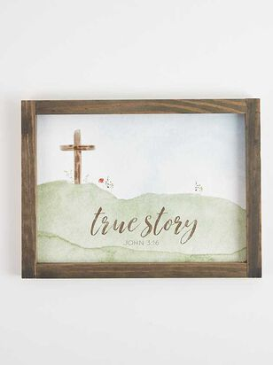 John 3:16 True Story Wall Art - Altar'd State