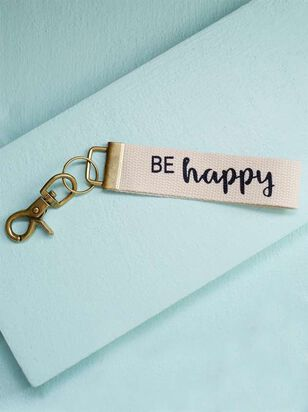 Be Happy Keychain - Altar'd State
