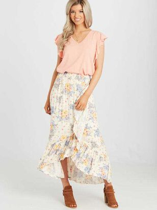 Suncrest Maxi Skirt - Altar'd State