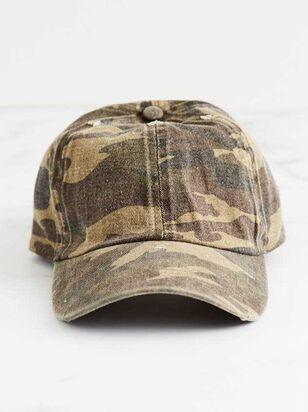 Washed Camo Baseball Hat - Altar'd State