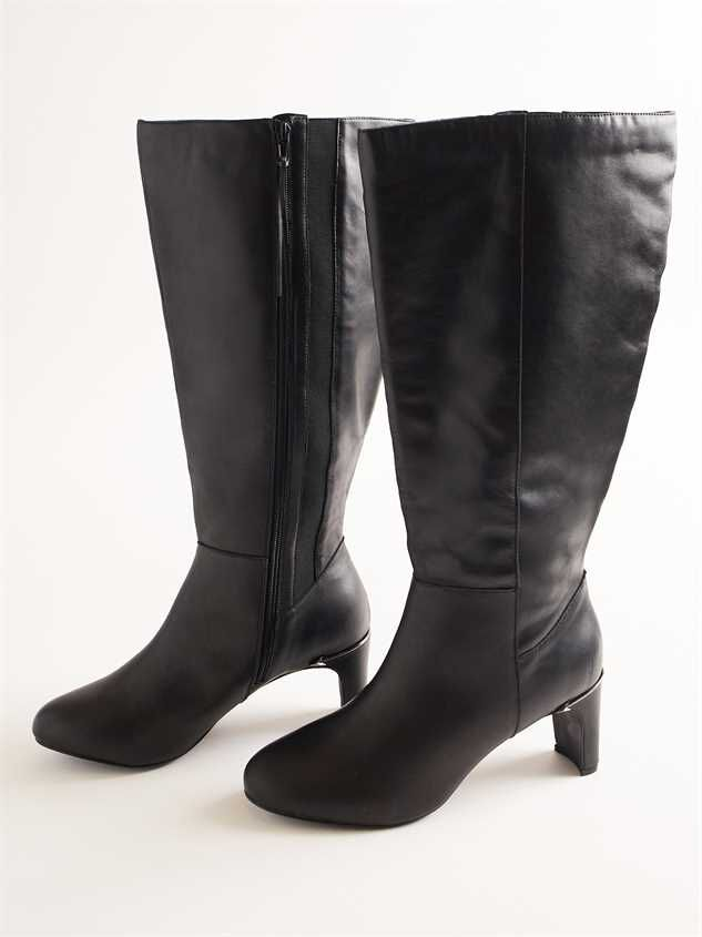 Jenny Leather Wide Width Boots | Altar