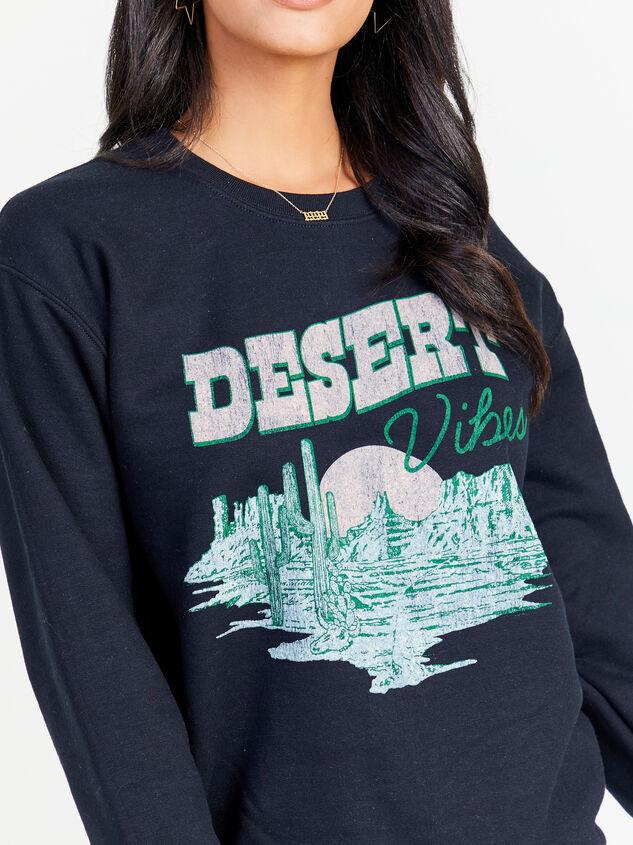 Desert Vibes Sweatshirt Detail 4 - Altar'd State