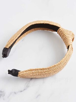 Raffia Knot Headband - Altar'd State