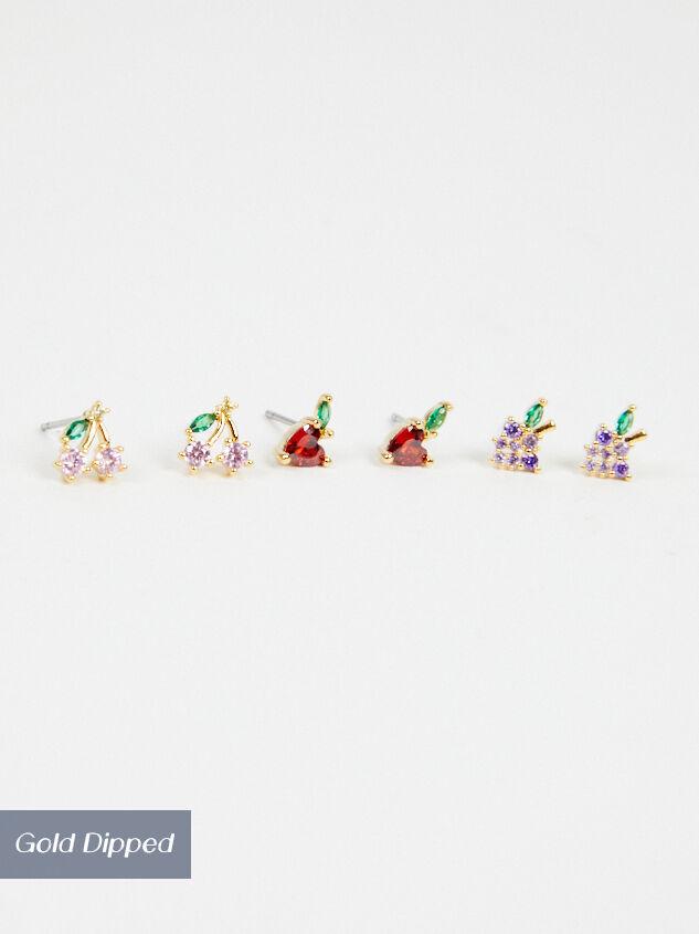 Fruit Basket Earring Set - Altar'd State