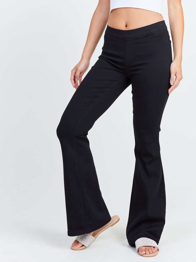 Abba Flare Jeans Detail 2 - Altar'd State