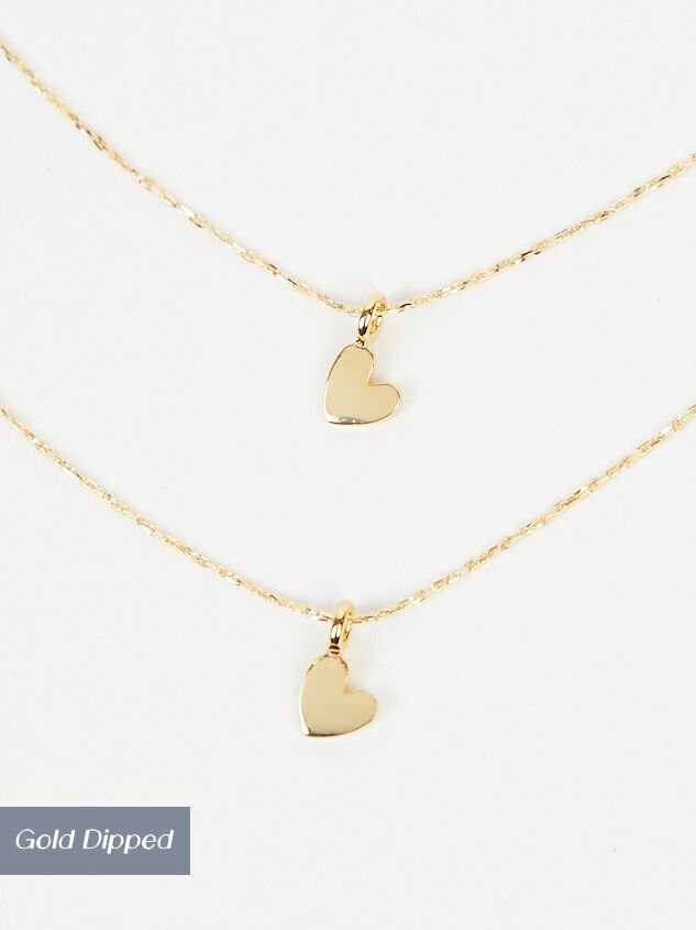 Dainty Hearts Necklace - Altar'd State