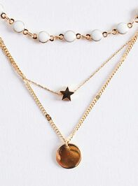 You're a Star Necklace Set Detail 3 - Altar'd State