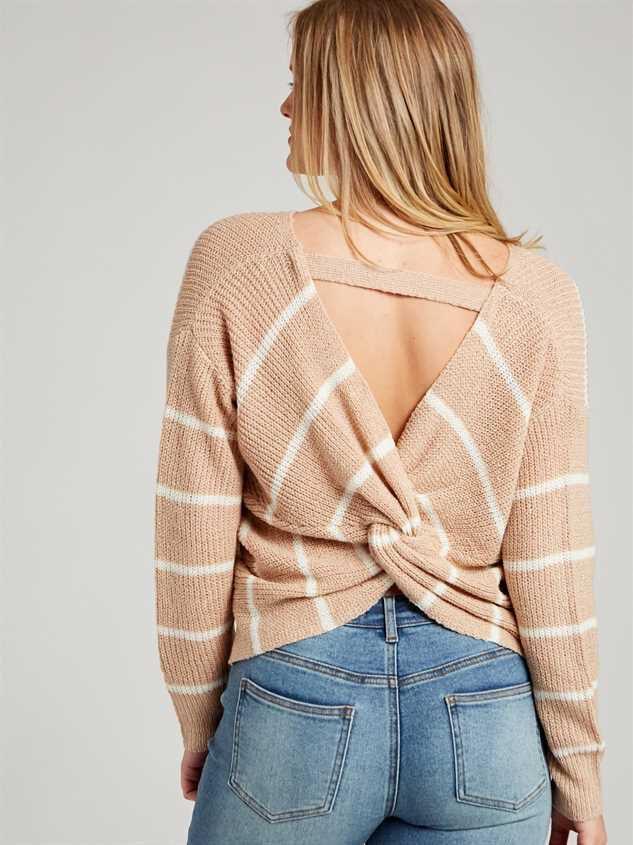 Mina Sweater - Striped Detail 3 - Altar'd State