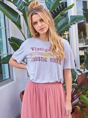 Vintage Acoustic Guitars Top - Altar'd State