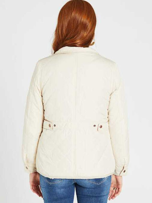 Alpine Quilted Puffer Jacket Detail 4 - Altar'd State
