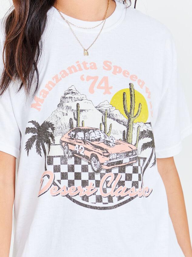 Desert Speedway Oversized Tee Detail 4 - Altar'd State