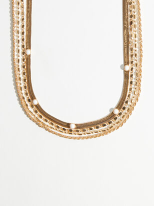 Madelyn Layered Necklace - Altar'd State