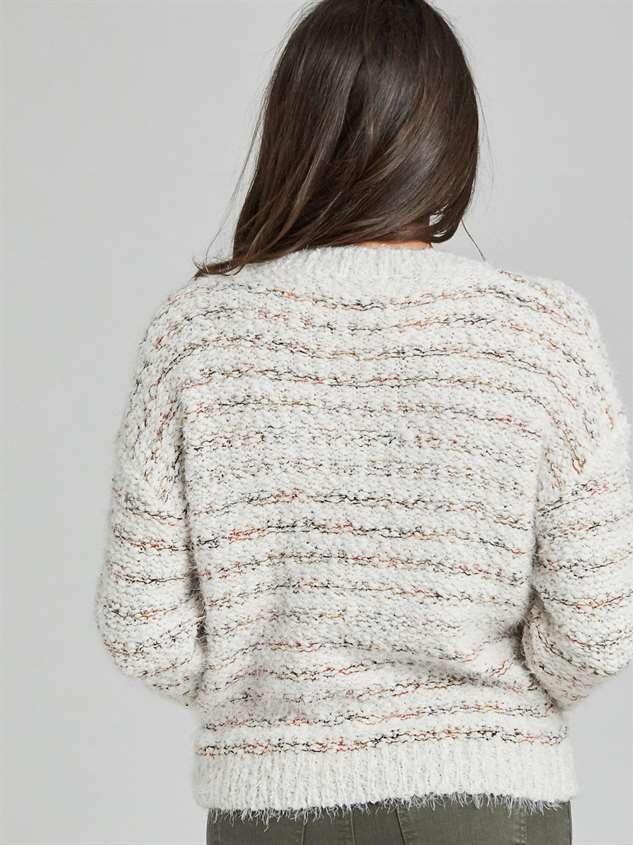 Lovely Lash Cable Sweater Detail 3 - Altar'd State