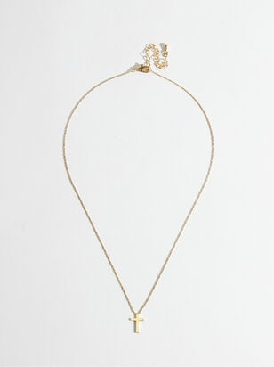 Cross My Heart Necklace - Altar'd State