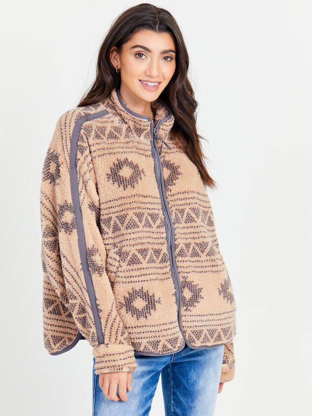 Aztec Full Zip Wubby Pullover - Altar'd State