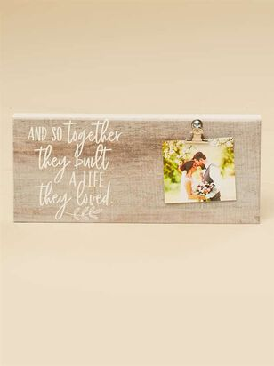 Life They Loved Clip Frame - Altar'd State