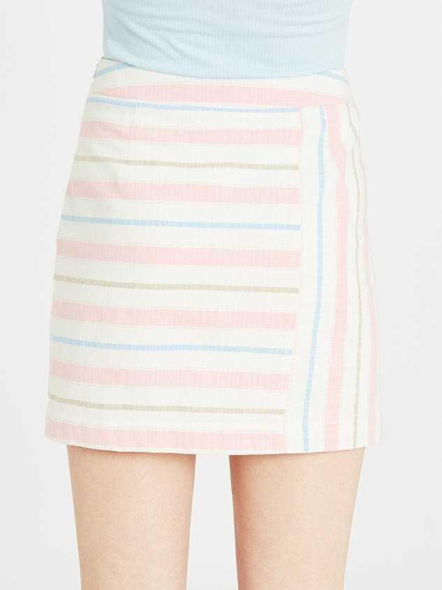 Fun in the Sun Linen Skirt Detail 4 - Altar'd State